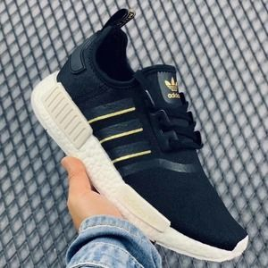 WMNS NMD R1 SNKRS BLK GOLD Adidas (6)